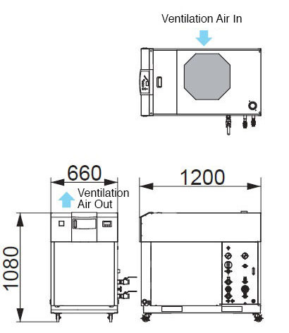 Compatible Oscillator Output: 2 kW RKE2200B1-V-2CH