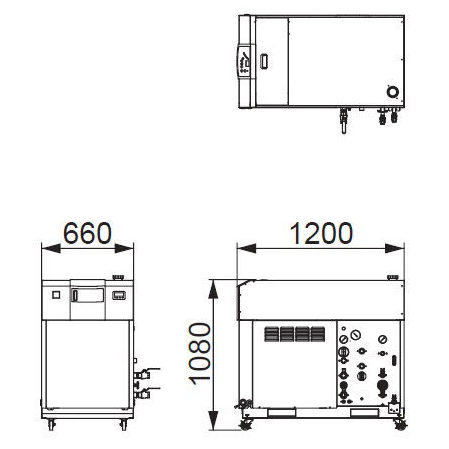 Compatible Oscillator Output: 1 to 2 kW RKE2200B1-VW-2CH