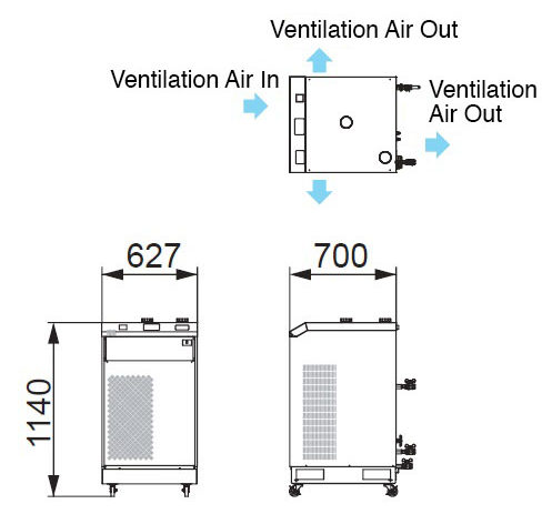 Compatible Oscillator Output: 1 kW RKS1500G-MV-2CH