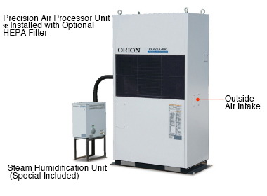 PAP-R Facility-Use Precision Air Processor