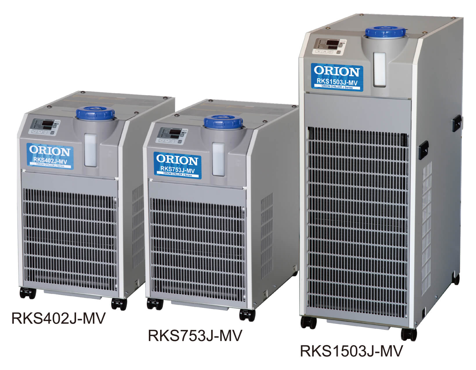 Mid-Grade, Compact Chillers with Water Tank